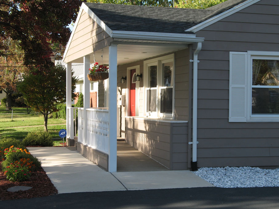 Handicap accessible home for assisted living by for Wheelchair accessible housing